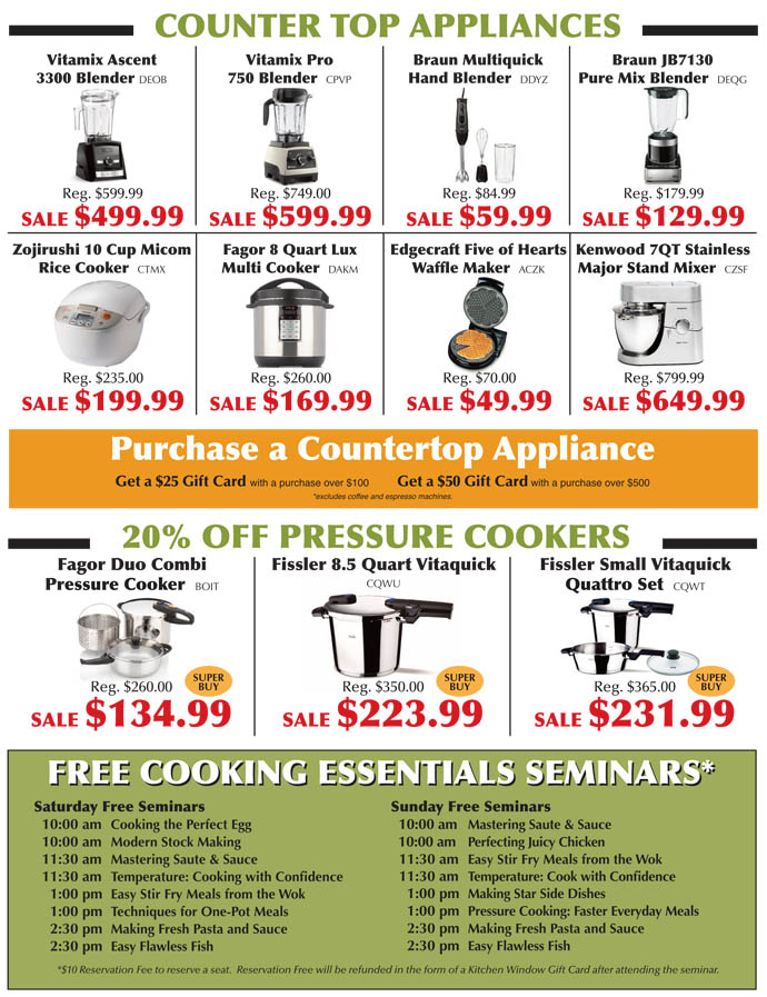 Cooking Essentials Sale 4