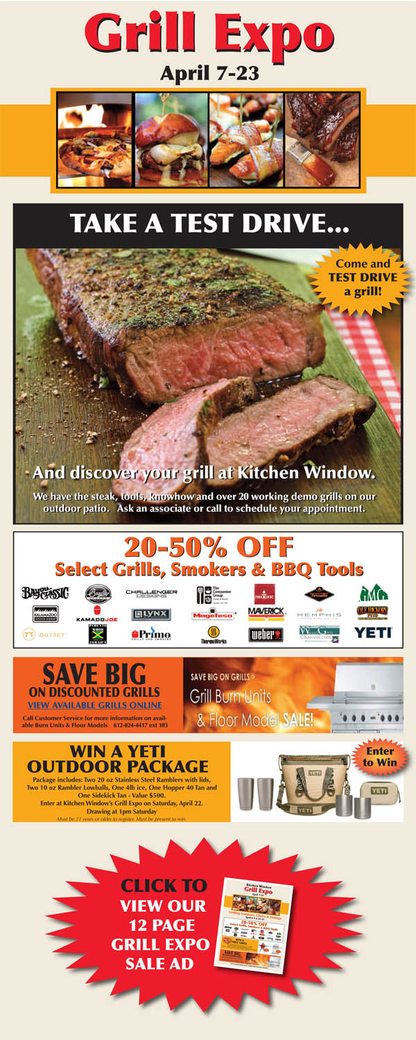Final Weekend of Grill Expo
