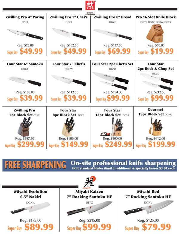 Knife Fest Super Buys 2