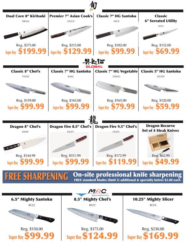 Knife Fest Super Buys 5
