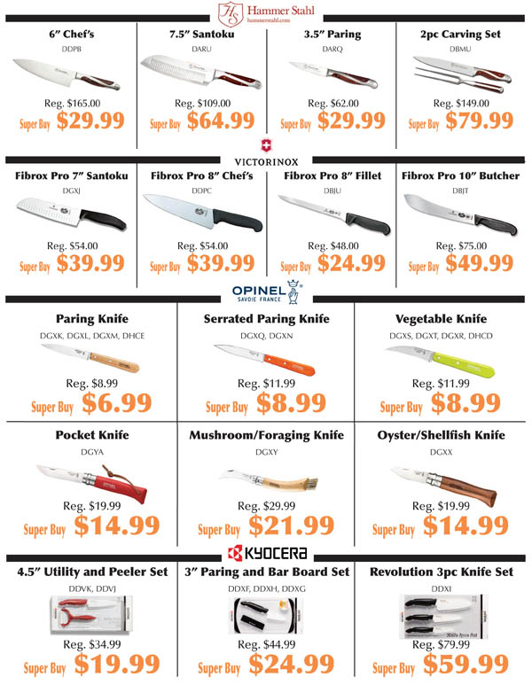 Knife Fest Super Buys 7