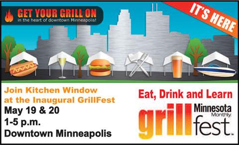 Join Kitchen Window at Minnesota Monthlys GrillFest