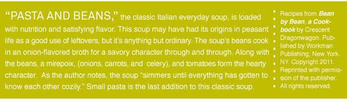 RECIPE: Pasta e Fagoli