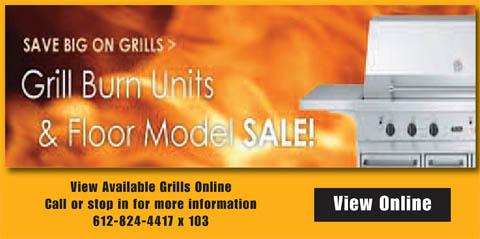 Grill Burn Unit Sale
