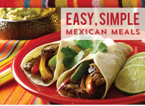 Easy, Simple Mexican Meals