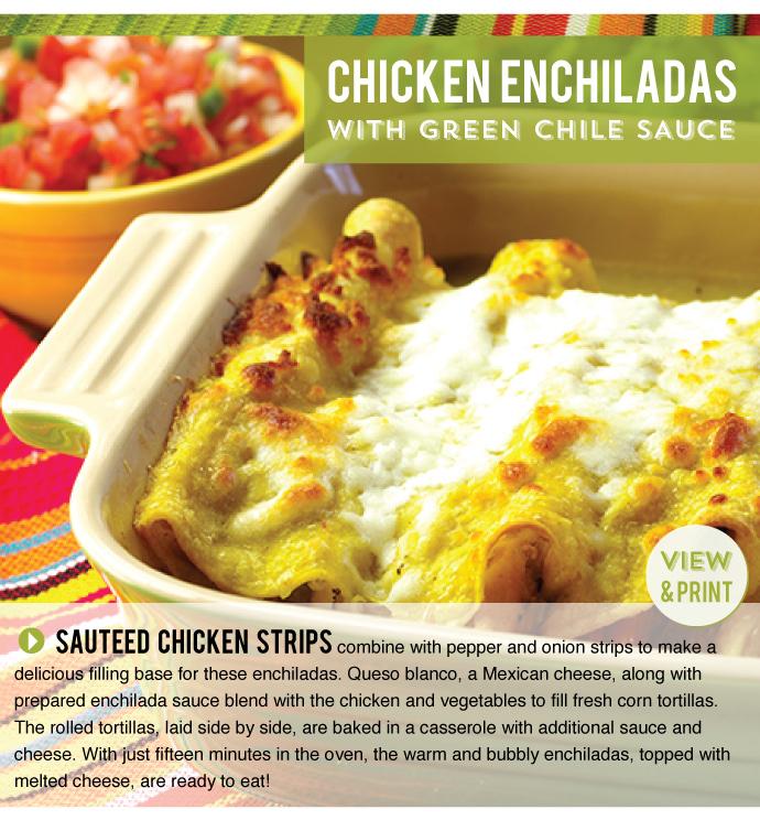 RECIPE: Chicken Enchiladas