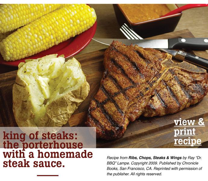 RECIPE: Porterhouse with steak sauce
