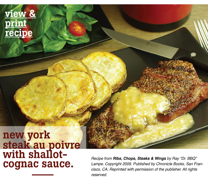 Recipe: NY Strip Steak