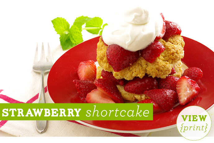 RECIPE: Strawberry Shortcake