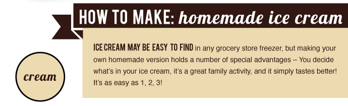 How to Make Homemade Ice Cream