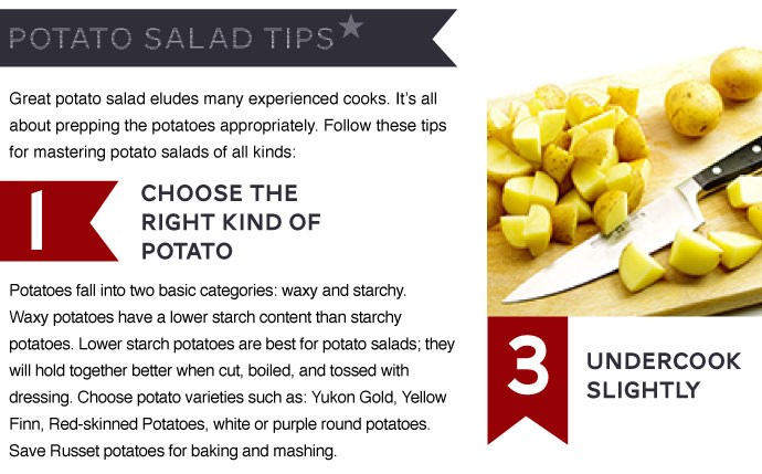 Potato Salad Tips