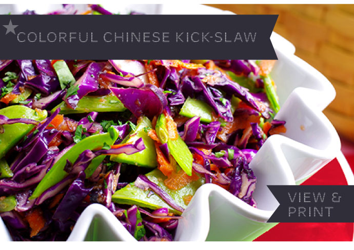 RECIPE: Colorful Chinese Kickslaw