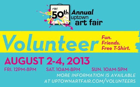 Uptown Art Volunteer