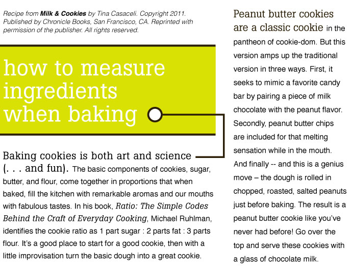 How to Measure when baking