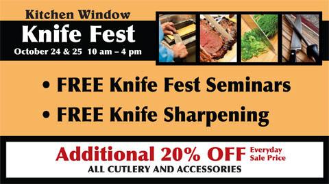 Kitchen Window Knife Fest
