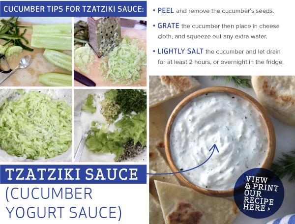 RECIPE: Tzatziki Sauce