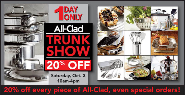 All Clad Trunk Show