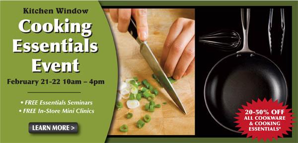 Cooking Essentials Event